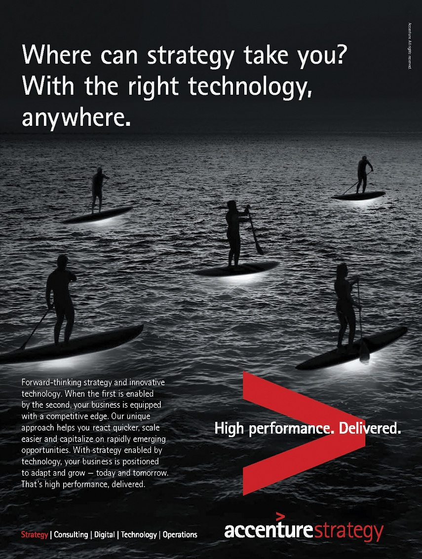 our work - Accenture Strategy Ad